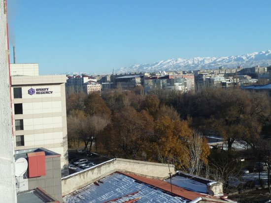 Smart Hotel Bishkek: View from the restaurant