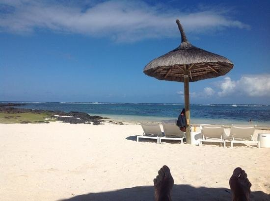 Long Beach Golf & Spa Resort : Perfect white sand beach