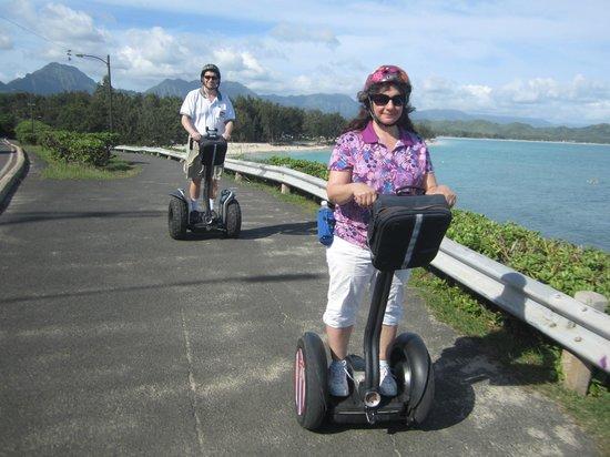 Segway of Hawaii- Kailua : E & J on Segways in Kailua, HI