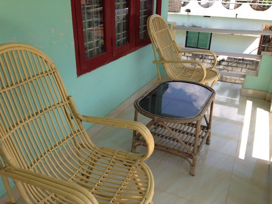 Deauvill Resort : Balcony