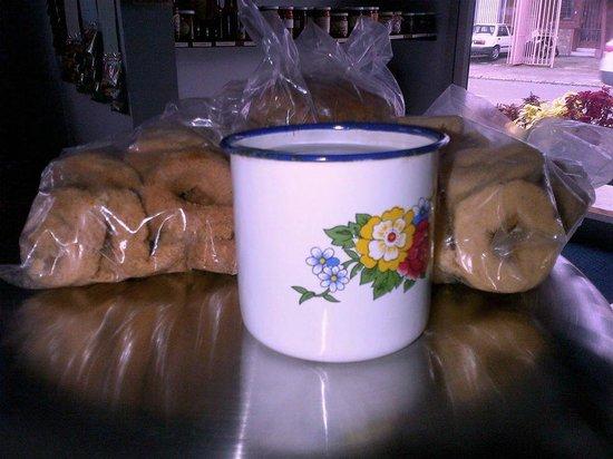 Ecomercado La pulperia del futuro: Cafecito con rosquillas