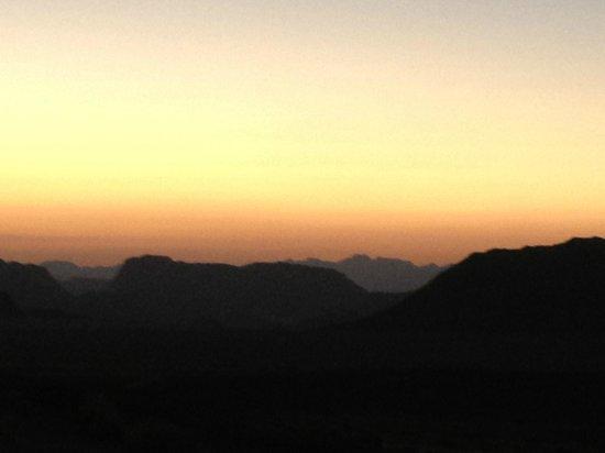 Mohammad Mutlak Camp : Sunset at Wadi Rum