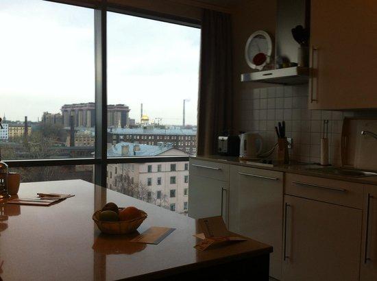 Staybridge Suites St. Petersburg : номер