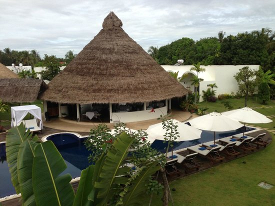 Navutu Dreams Resort & Wellness Retreat: View from roof terrace