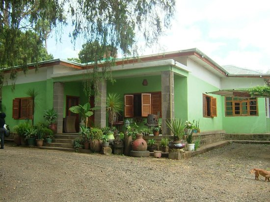 Abbaba's Villa: Front of House