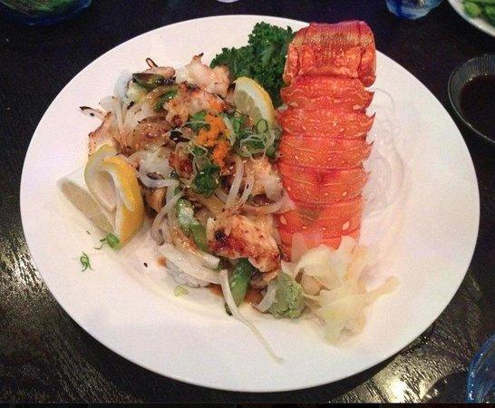 O Fine Japanese Cuisine - Laguna Beach: Baked Lobster Roll