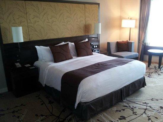 Shangri-La Hotel Sydney: Very comfortable bed