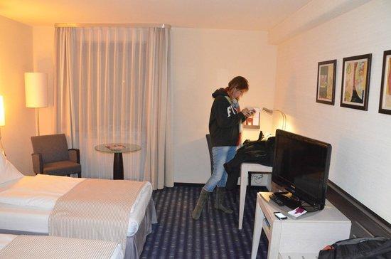 Mercure Hotel Muenchen Sued Messe: big room