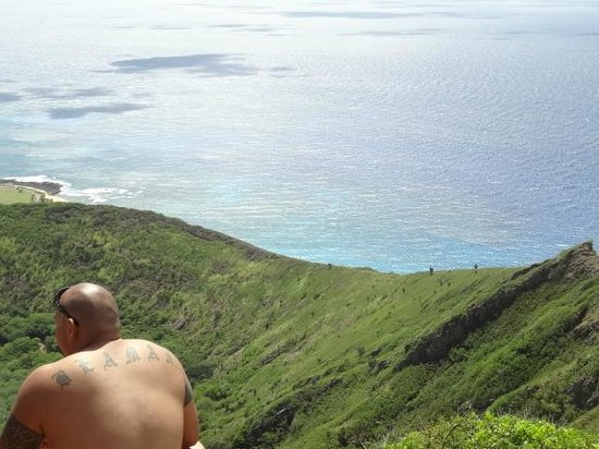 Koko Crater Trail: view