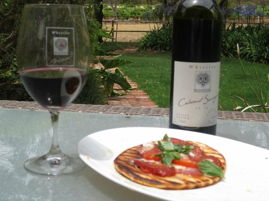 The Paddocks: Whistlers own superb 2010 Cab Sauv and lunch