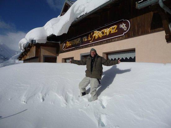 l'Auberge de l'Archaz: de beaux hivers...