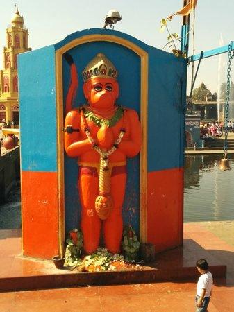 Ramkund : Hanumanji at the Ram Kund