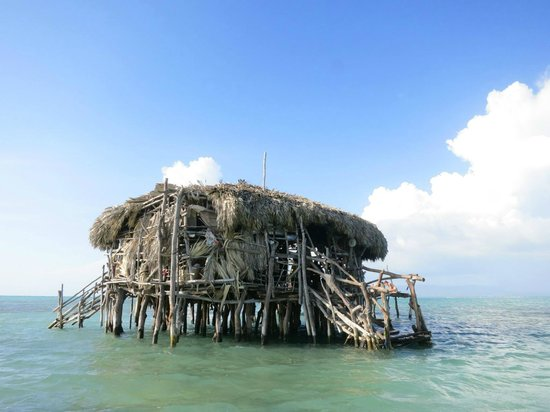 Floyd's Pelican Bar: From the water