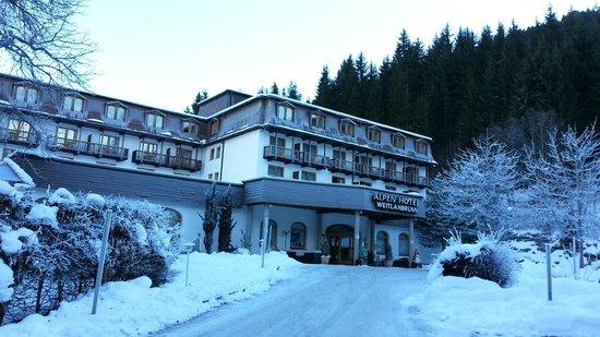Alpen Hotel Weitlanbrunn: Entrata Hotel