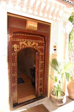 Riad Palais des Princesses : entrance