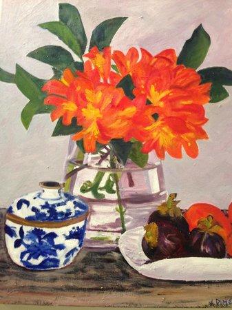 Hazelhurst Cafe: Art work
