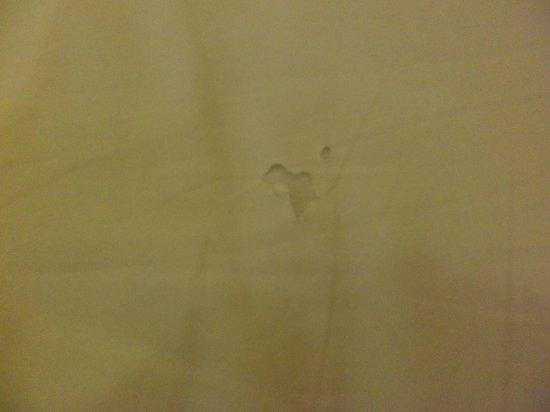 Chandee Guesthouse: ปลอกหมอนมีรูขาด