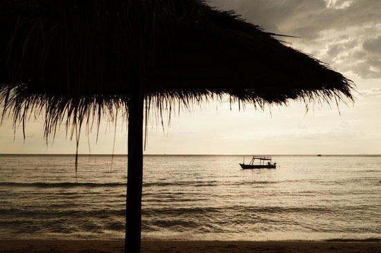 Otres Beach: Abends