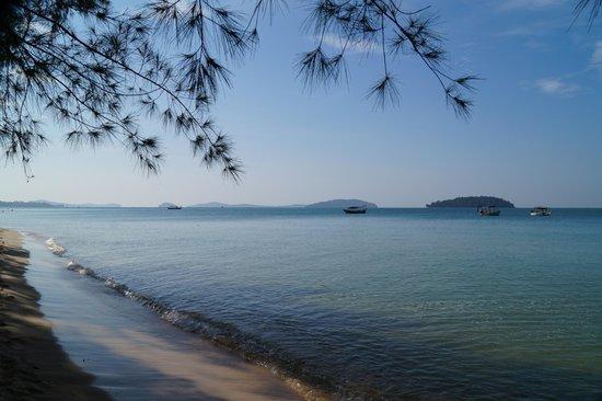 Otres Beach: 9.30 Uhr