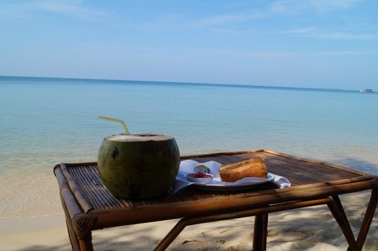 Otres Beach: Frühstück