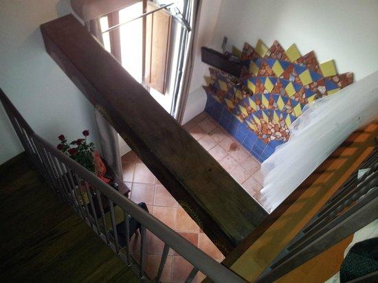 Hotel La Batia : Sicht aus 2.Ebene Suite