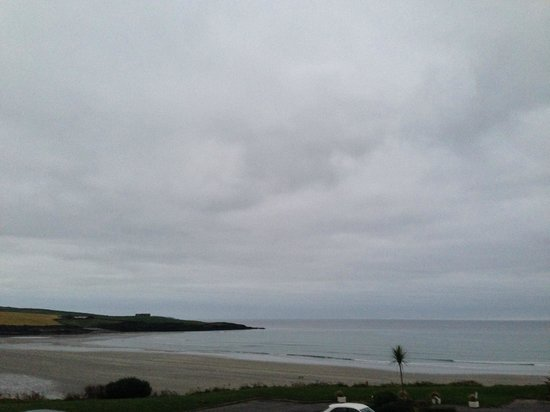 Inchydoney Island Lodge & Spa: View of Beach from Room