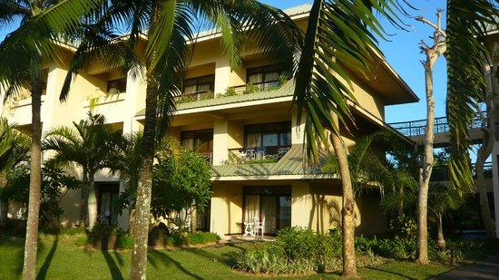 Le Meridien Ile Maurice : photo balcons de la suite au 3ème étage