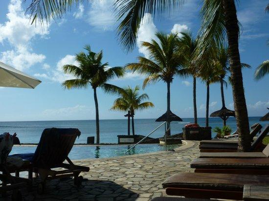 Le Meridien Ile Maurice : piscine coté nirvana