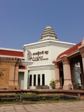 Angkor National Museum: Front of the museum