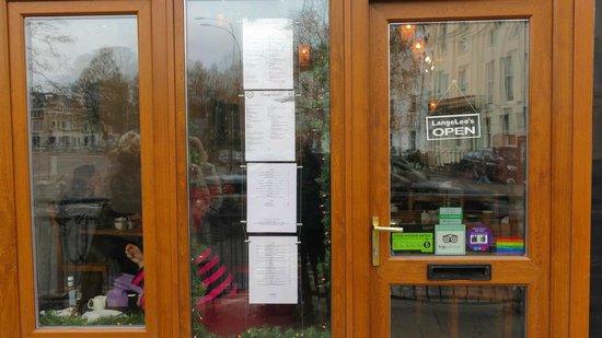 LangeLee's: Lange Lees shopfront
