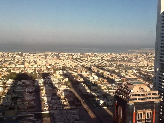 Emirates Grand Hotel: View from the 41st floor