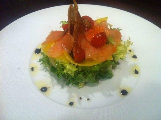 Hotel Swiss Moraira : Una ensalada