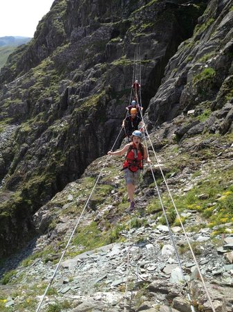 Mobile Adventure - Day Adventures: Via Ferrata with Mobile Adventures at Honister Slate Mine