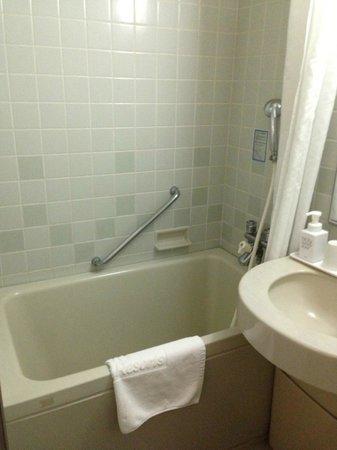 KKR Hotel Osaka: small tub
