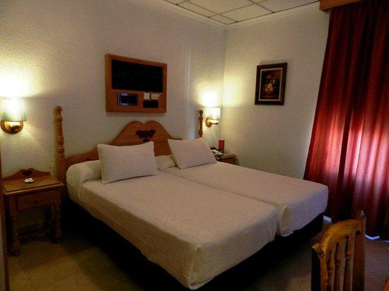 Carlos V Hotel : Habitación 212