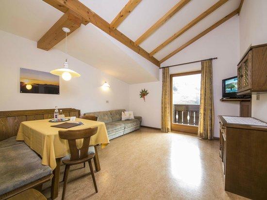 Rudlerhof & Chalet Rudana: Appartement Wohnzimmer Residence Rudlerhof