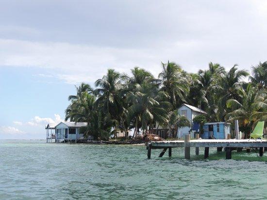 Tobacco Caye Paradise: Legando a Tobacco Caye