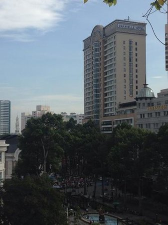 Caravelle Saigon: View from the Rex