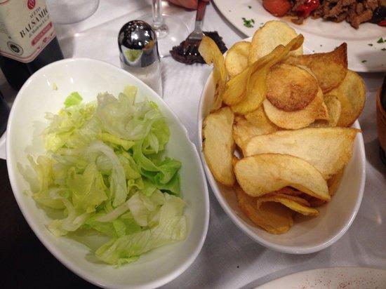 Il Braciere: Patate al forno e insalata