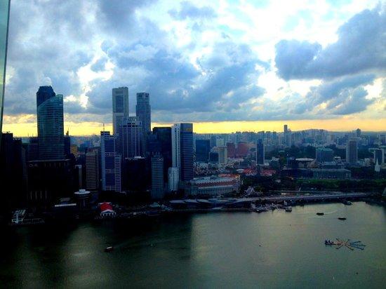 Marina Bay Sands: Zimmer Aussicht