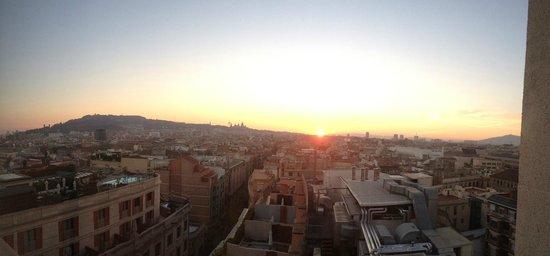 Le Meridien Barcelona: suite terrasse