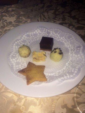 Gasthof Kirchsteiger: In più offerti da loro questi fantastici cioccolatini dopo il caffe