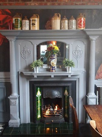 The Lodge - Ale House & Kitchen: The Lodge - Fireplace