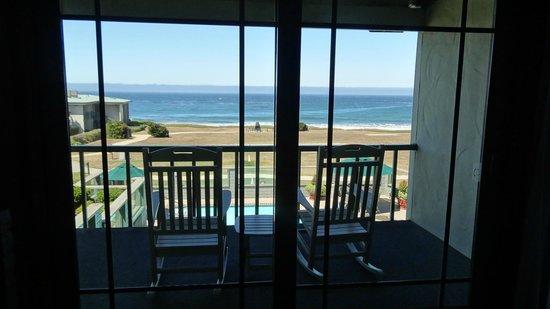 Cavalier Oceanfront Resort: Chambre avec vue