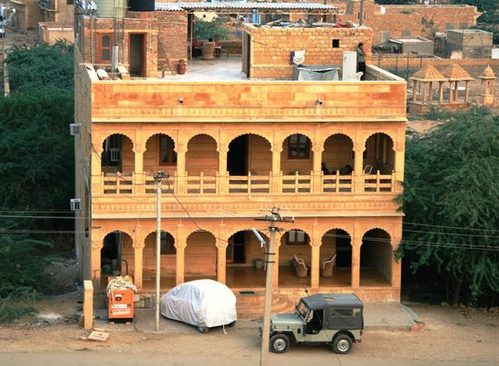 Desert Moon Guesthouse from Vyas Chhattri