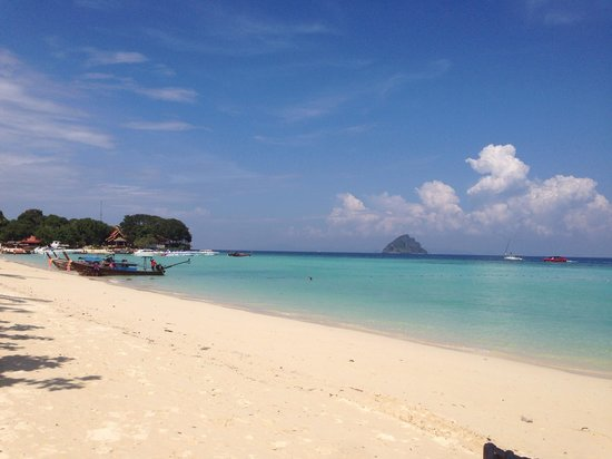 P.P. Erawan Palms Resort: Picture of beach