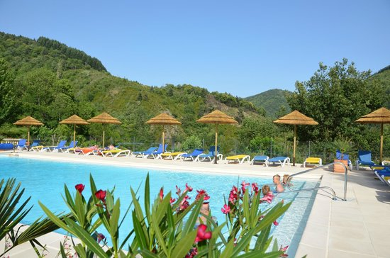 L'Ardechois Camping: Pool