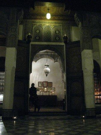 Dar Seffarine: Part of the atrium