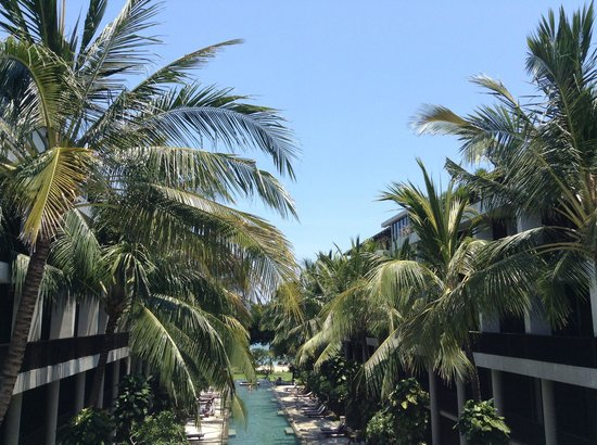 The Oasis Beach : The view from suite room