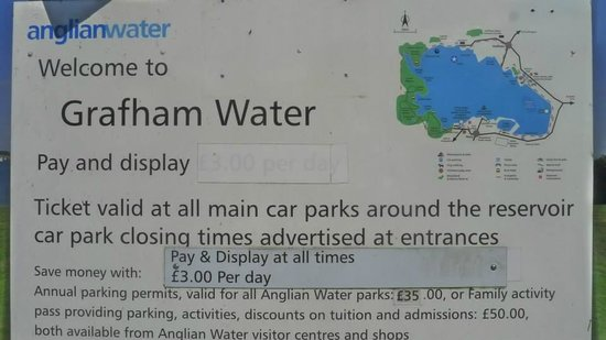 Grafham Water Centre: Map
